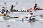 Финальный заплыв женских байдарок-одиночек на ОИ-2016