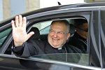 Новый апостольский нунций Габор Пинтер прибыл в Минск