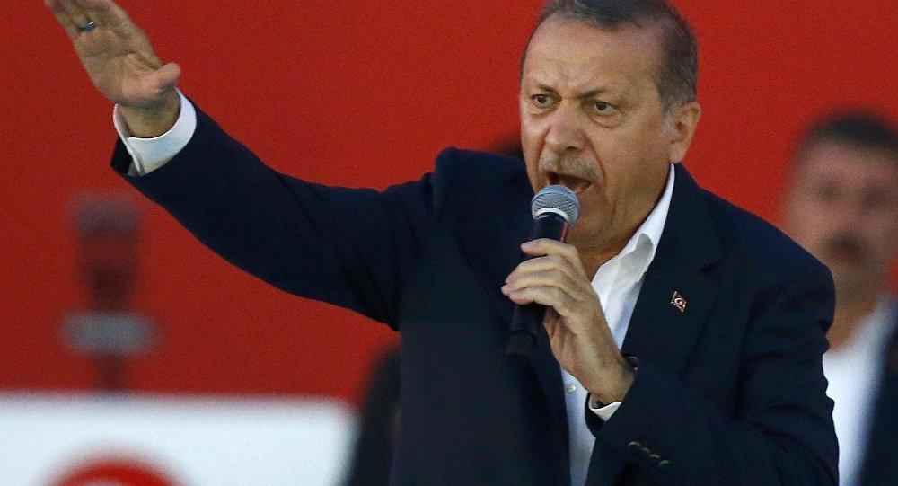 Реджеп Эрдоган обвинил приверженцев Гюлена впричастности ктерактам вТурции
