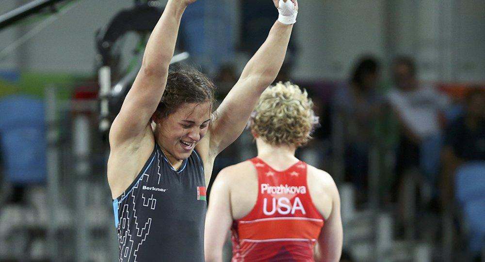 Белорусская спортсменка Мария Мамошук