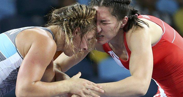 Мария Мамошук стала серебряным призером Олимпиады вРио вженской борьбе