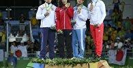 Прызёры Алімпійскіх гульняў-2016. Марыя Мамашук - злева