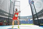 Белорусский легкоатлет Иван Тихон