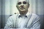 Кадр из видеообращения президента СССР М.С.Горбачева к народу. Августовский путч 1991 года