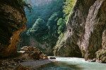 Теснина Чегемского ущелья в Кабардино-Балкарии. Архивное фото