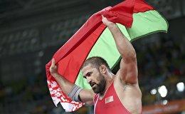 Белорусский борец Ибрагим Саидов