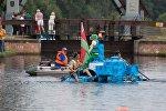 Заплыв по Августовскому каналу