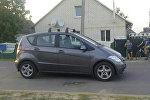 Автомобиль, сбивший ребенка в Иваново