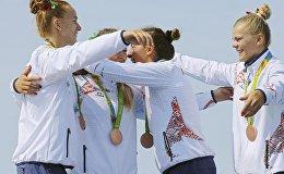 Белорусский экипаж байдарки-четверки