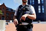Офицер бельгийской полиции. Архивное фото