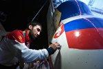 Чествование дзюдоиста Хасана Халмурзаева в Русском доме