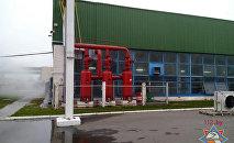 Компрессорный цех завода в Клецке