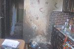 Пожар в квартире в Гродно