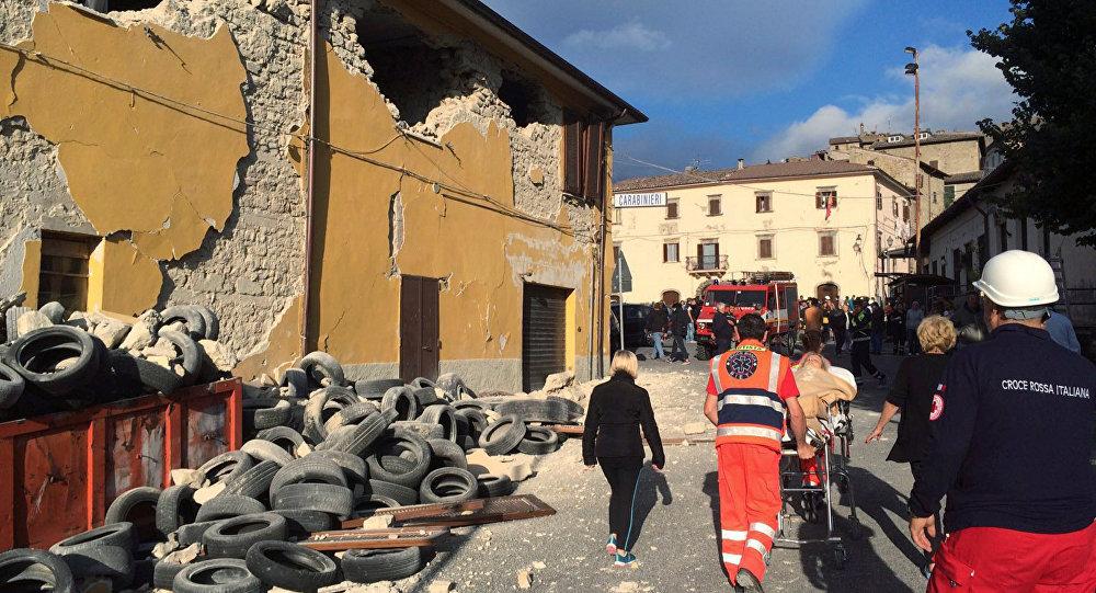 Среди жертв землетрясения вИталии информации обелорусах нет