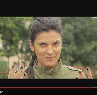 Кадр из видео обращения спортсменов к БАТЭ перед матчем с Астаной