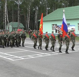 Учения с миротворческими силами ОДКБ стартовали в Беларуси