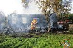 Пожар в Дятловском районе