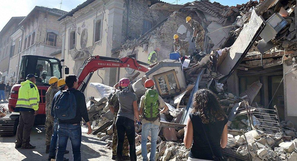 Количество жертв землетрясений вИталии достигло 247 человек