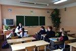 Евгения Гутникова -  учитель в 174-й минской гимназии