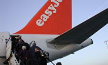 Посадка на лайнер EasyJet