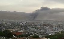 Взрыв в городе Джизре в Турции