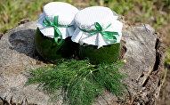 Соус из укропа и ломонов