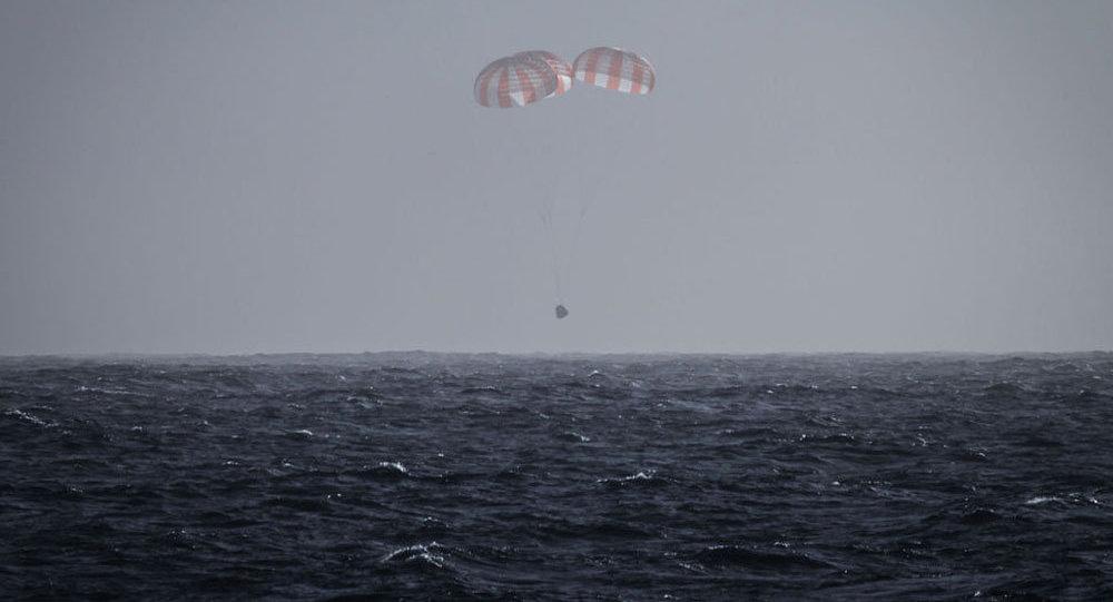 Космический корабль «Dragon» доставит наЗемлю сМКС 1,4 тонны груза
