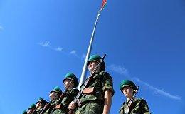 Курсанты первого курса Института пограничной службы присягнули на верность Родине