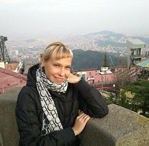 Вераника Драздова - белоруска из Бильбао