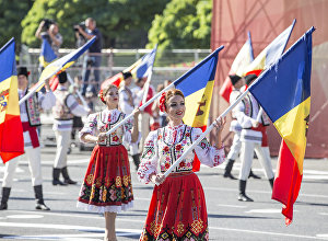 парад в Кишиневе, 25 лет независимости
