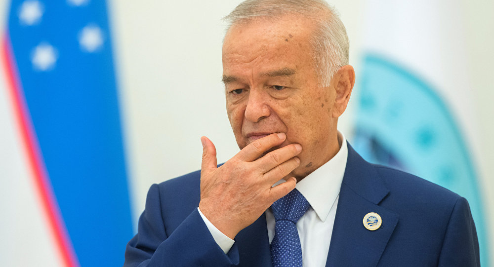 Президент Узбекистана Ислам Каримов госпитализирован