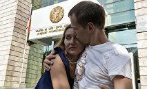 Российский гражданин Сергей Миронов, отпущенный в зале суда