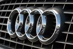 Знак на автомобиле Audi