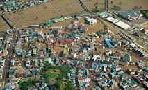 Последствия тайфуна Лайонрок в Японии