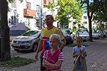 Владимир Зеленовский с детьми