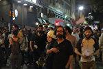 СПУТНИК_Сторонники президента Бразилии выкрикивали речевки на улицах Сан-Паулу