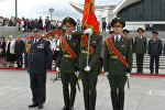 Министр внутренних дел Беларуси вручил знамя специализированному лицею МВД