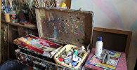 Фарбы з творчай валізы