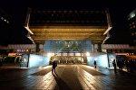 Кинотеатр Москва в Минске, где состоялась торжественная церемония открытия Лiстапада
