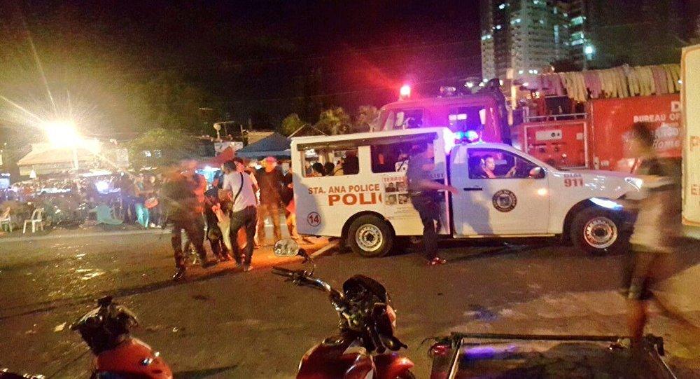Впроцессе визита президента Филиппин вего родной город произошел взрыв