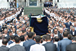 Церемония прощания с Исламом Каримовым в Самарканде