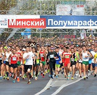 Минский полумарафон-2016