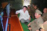 Председатель КНДР Ким Чен Ын