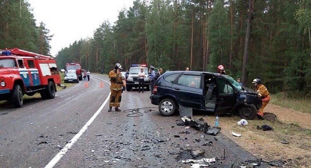 При лобовом столкновении под Рогачевом погибли три человека