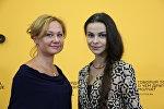 Алена Тихонова и Екатерина Анискович