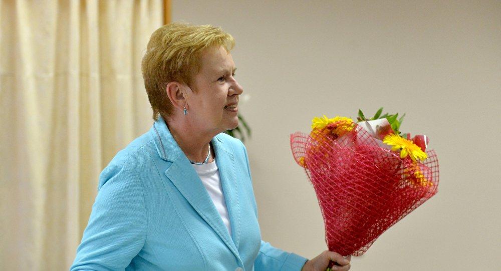 Лидия Ермошина голосует преждевременно