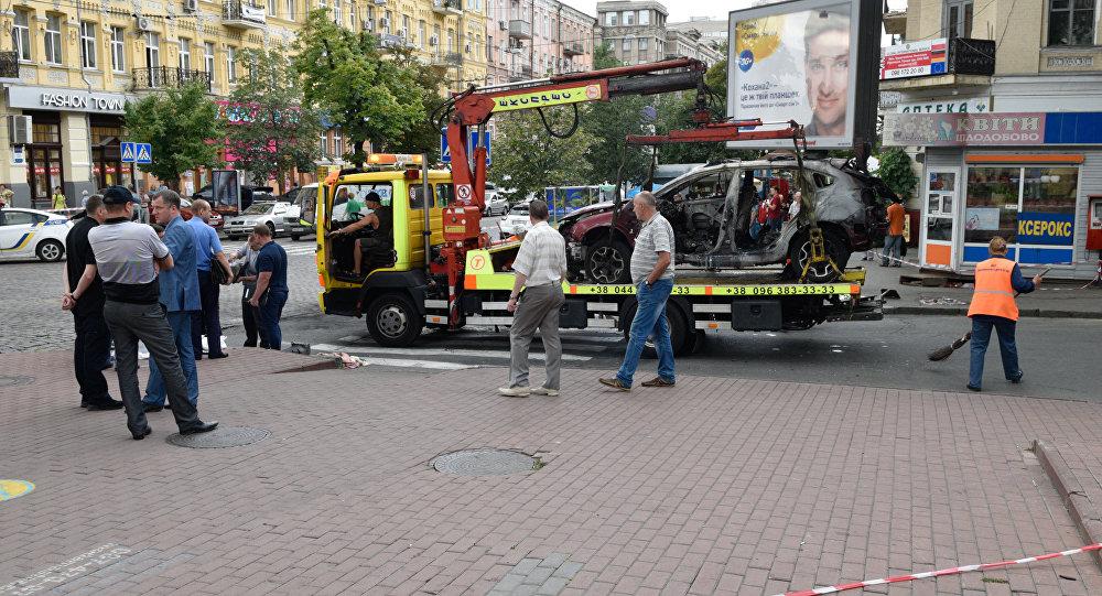 Деканоидзе заявляет, что прорыва вделе убийства Шеремета пока нет