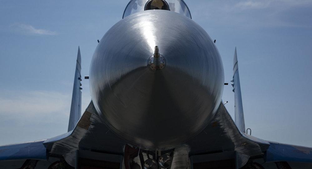 Пентагон проинформировал обопасном перехвате самолета США русским Су-27