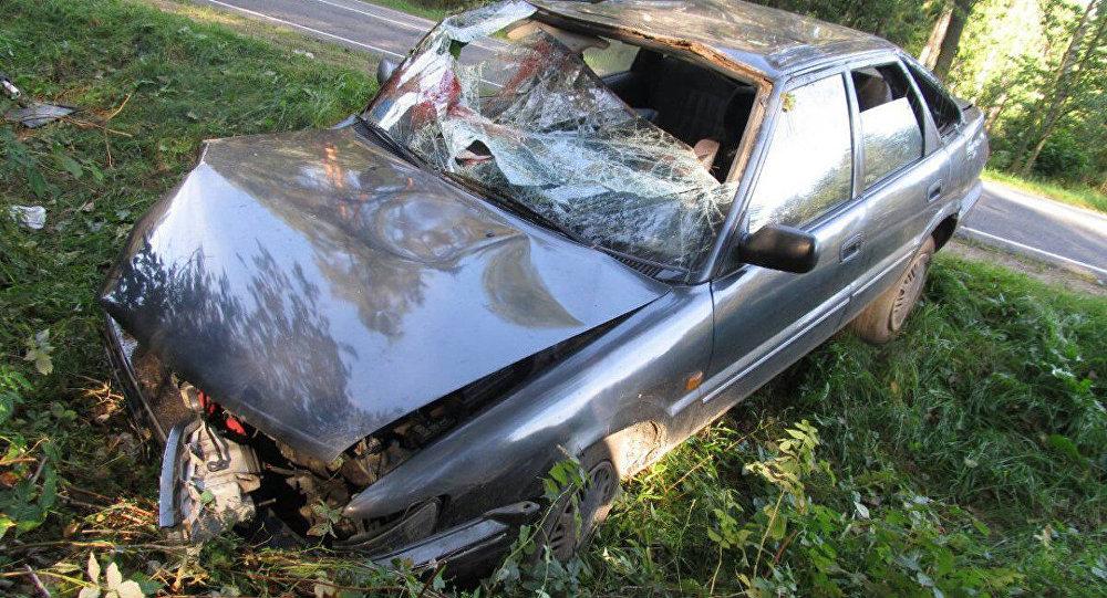 ВМостовском районе шофёр, неспавший сутки, совершил ДТП