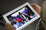 Белорус вынес флаг РФ в Рио в знак поддержки спортсменам